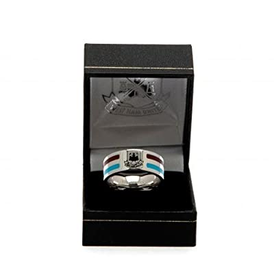 Colour Stripe Ring - West Ham United F.C (Large)