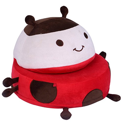 child Mini sofa,Folding sofa,Baby seat lovely Animal Folding Small sofa Individual seat-A 40x40x26cm(16x16x10) by JiaQi