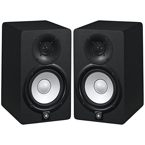 Yamaha hs5 70w powered 2 way studio monitor pair with 1 for Yamaha extended warranty