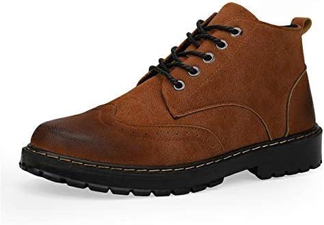 流行に敏感なメンズファッションアンクルブーツカジュアルで快適なハイトップはブーツを詰め 快適な男性のために設計