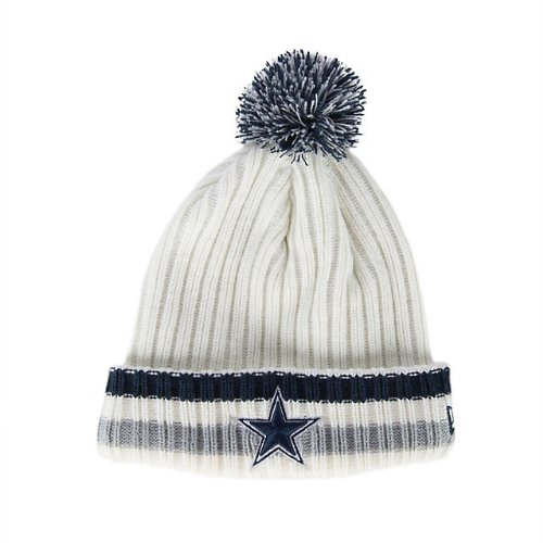 New Era Men's Dallas Cowboys Yester Year Knit Cap Team One Size Fits Most