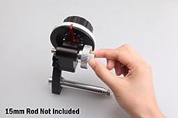 New Kamerar FF-3 Follow Focus w/ 15mm Quick Release Rods Clamp