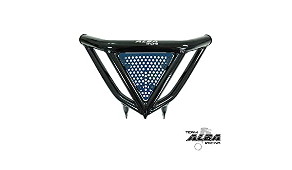 Front ATV Steel Braided Brake Line Standard Length Silver for Yamaha RAPTOR 700R 2013-2019