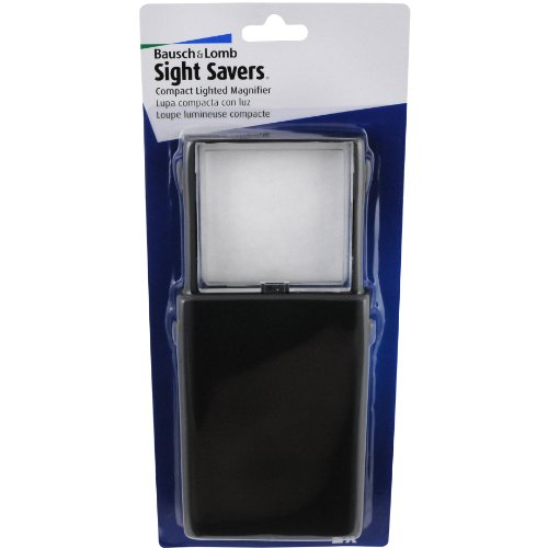 Bausch & Lomb Compact Lighted Magnifier, 2x by Bausch & Lomb
