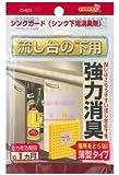 場所をとらない薄型タイプ 日本製 シンクガード 強力消臭剤 (流し台の下用)