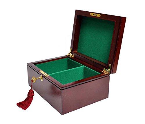 - The House of Staunton Premium Chess Box - Mahogany - NO Logo