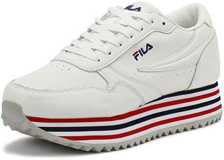 Fila Orbit Zeppa F Womens White/Stripe Trainers-UK 7 / EU 40 ...