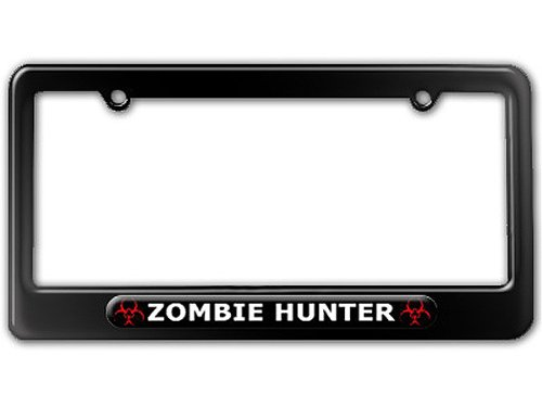 license plate frame biohazard - 6