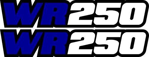 Yamaha Swing (Yamaha Wr250 Blue Swingarm Decals Sticker Wr 250 Dirtbike Mx Racing Graphics Enduro)