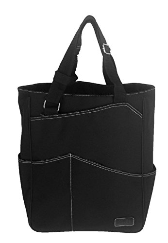 Maggie Mather Tennis Tote, Travel Tote (Pewter)