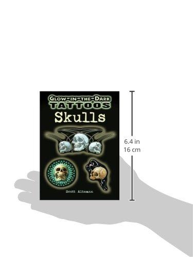 Skulls: Glow-in-the-dark Tattoos (Dover Tattoos)
