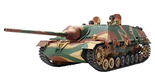 Tamiya Models Jagdpanzer IV/70(V) Lang 1/35 Military Land Vehicle Model Building Kits (Tank Panzer German Iv)