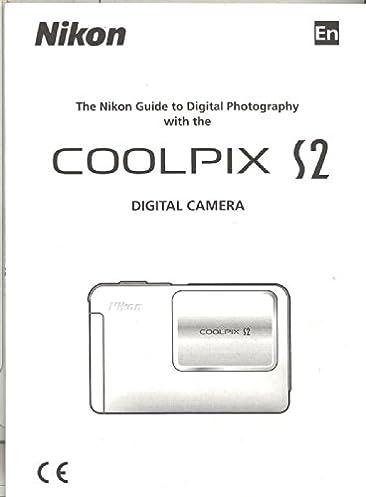 nikon coolpix s2 original instruction manual nikon amazon com books rh amazon com nikon coolpix s2 user manual nikon coolpix s02 user manual
