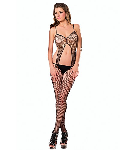 Bodystocking Open Front - 7