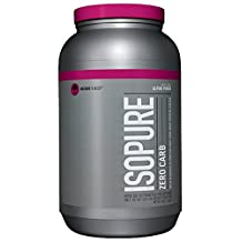 Isopure Zero Carb Protein Powder, Alpine Punch, 3 Pounds