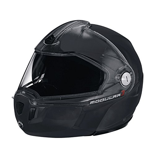 Ski-Doo New OEM Modular 3 Helmet Black No Anti-Fog Dual Lens 3XL 4479631690