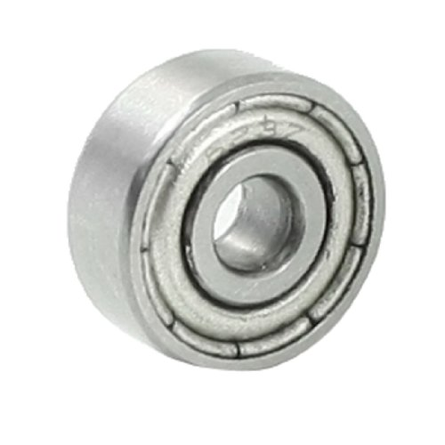 uxcell 3mmx10mmx4mm Double Shielded 623Z Deep Groove Ball Bearing ()
