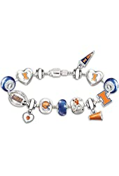 Women's Charm Bracelet: Choose Your Favorite College Team #1 Fan by The Bradford Exchange