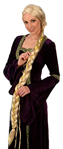 Kangaroo Blonde Princess Rapunzel Wig; Adult/Teen Costume