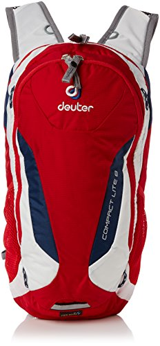(Deuter Compact Lite 8 w/ 3L Res. Fire / White One Size)