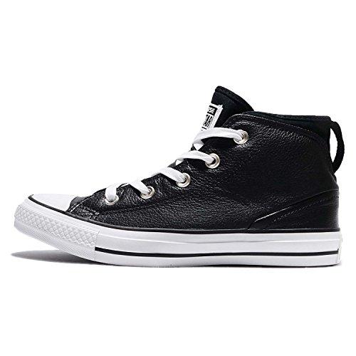 Converse Herren Chuck Taylor All Star Street Sneaker Schwarz / Schwarz / Weiß