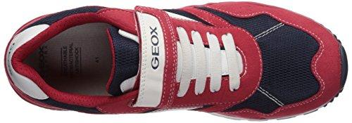 Geox Pavel B, Zapatillas Para Niños Rojo