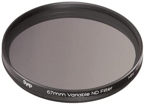 Syrp 67mm 9-Stop Variable ND Filter with Case and 58mm /& 52mm Step Down Rings