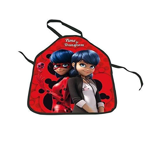 Tablier enfant Miraculous Ladybug peinture cuisine jeu deguisement enfant 3 à 8 ans Zag