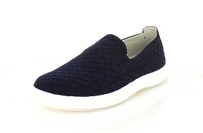 Aureus Men's Henson Slip-On Sneaker,Navy Microfiber,US ...