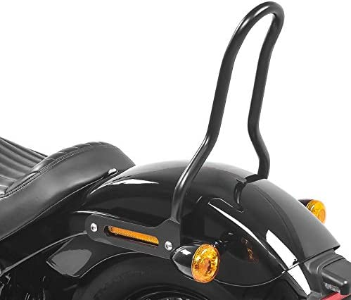 Sissybar Kompatibel Für Harley Davidson Softail 18 21 Craftride Tampa S Schwarz Auto