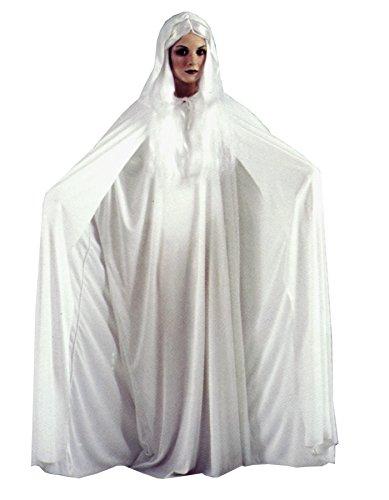 GTH Women's Gossamer Ghost White Theme Party Fancy Halloween Costume, Standard (4-14)