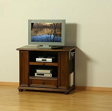 TV de/Phono Muebles II Verona Nussbaum Antiguo Barnizado de Albero Muebles: Amazon.es: Hogar