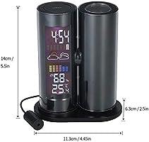 FOOSKOO Clock Despertador Digital Proyector LCD Reloj Despertador ...