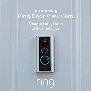 Ring Door View Cam – Smart video doorbell, HD video, 2-way talk