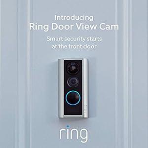 Ring Door View Cam – Smart video doorbell, HD video, 2-way talk