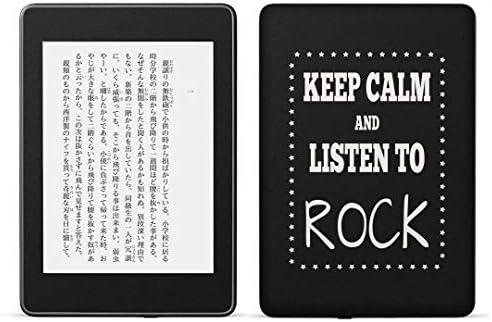 igsticker kindle paperwhite 第4世代 専用スキンシール キンドル ペーパーホワイト タブレット 電子書籍 裏表2枚セット カバー 保護 フィルム ステッカー 015764 英語