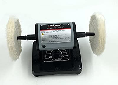 "TruePower 5"" Mini Bench Polishing Machine, Buffer, Polisher."