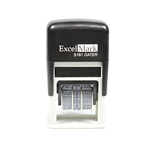 ExcelMark Emailed Date Stamp - Compact Size (Black Ink) Photo #3