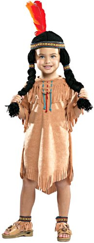 [Indian Girl Costume - Toddler] (Toddler Indian Costumes)