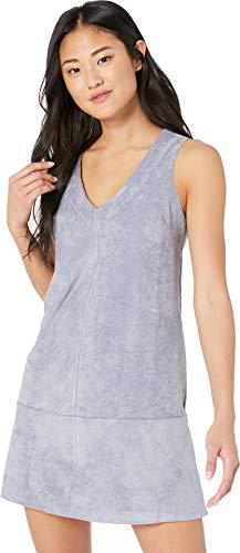 Bishop + Young Women's V-Neck Dress Twilight Blue Large ()