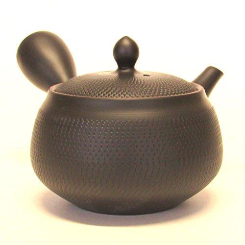 Japanese Teapot Tokoname Kyusu / Studio Morimasa / Obi-ami / 390 ml (13.2 oz)