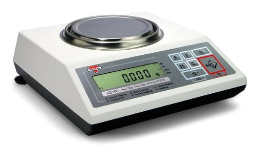 Torbal AD120 Precision Scale, 120g x 0.001g (1mg Readability), Electromagnetic Load-cell, USB, Die-Cast Metal Housing, Backlit LCD