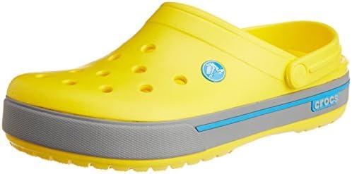 crocs Unisex Crocband II.5 Clog,Yellow