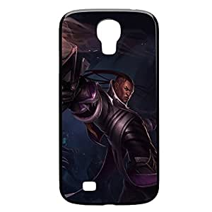 Lucian-002 League of Legends LoL case cover for Samsung Galaxy S4, GT I9500, I9005, I9006 - Plastic Black