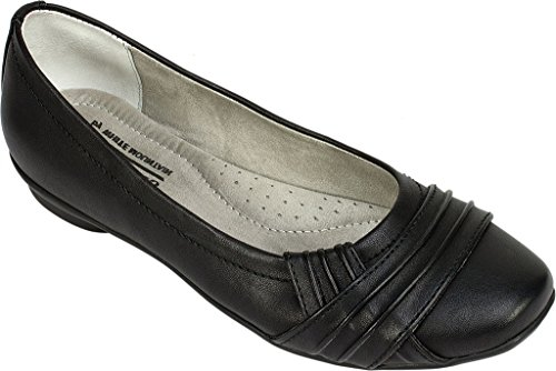 Ballet Flats Black Halfrida 9 US White by Cliffs Mountain w6PqqBXI