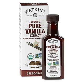 Watkins Organic Pure Vanilla Extract, 2 oz, 1 Count
