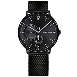 Tommy Hilfiger Mens Multi dial Quartz Watch with Stainless Steel Strap 1791507