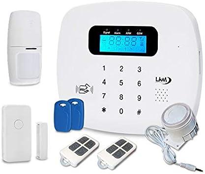 Alarma doméstica inalámbrica IRIS de LKM Seguridad, con GSM ...