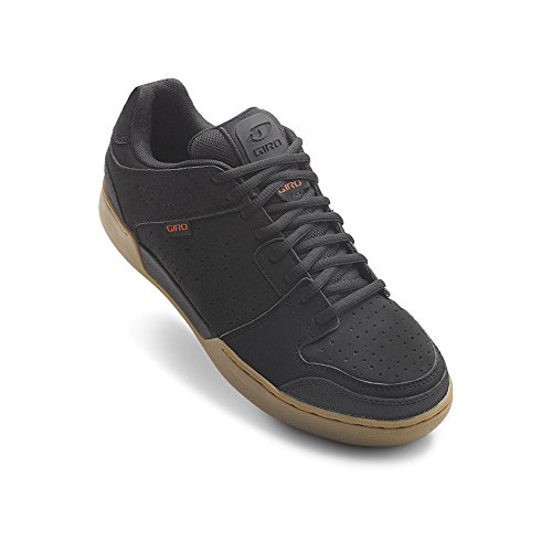 Giro Jacket Shoes - Men's Black/Gum, 43.0