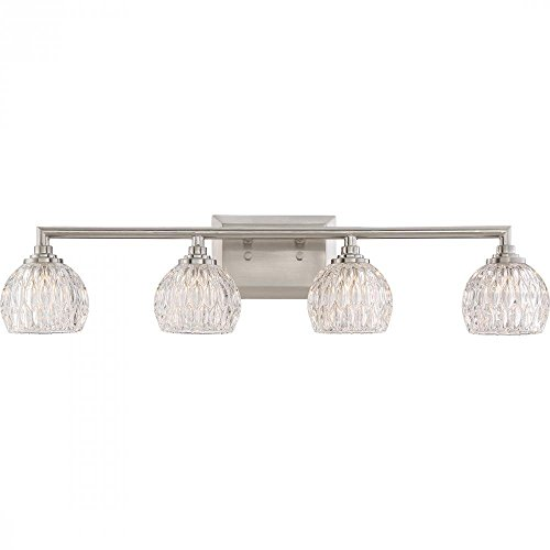 Quoizel Platinum Collection Serena PCSA8604BN 4 Light Bathroom Vanity Light